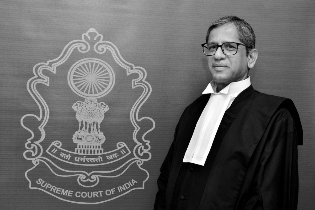 Justice N V Ramana appointed as 48th Chief Justice of India